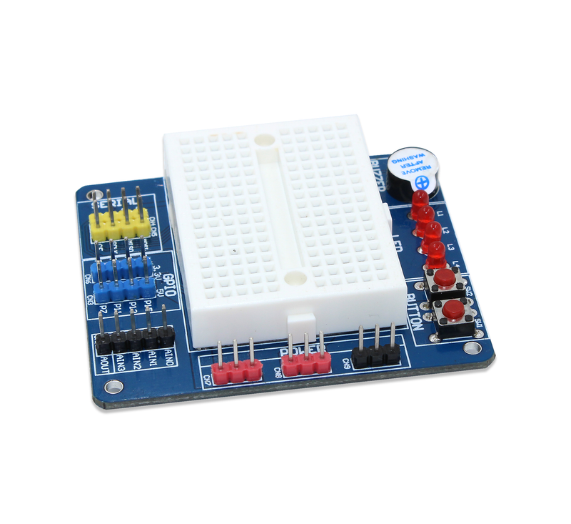 Multipurpose BreadBoard HAT for Raspberry Pi