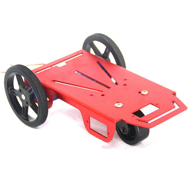 Raspberry Pi and Arduino compatible robot chassis with 2-motor drive system