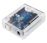 Arduino Uno Clear Case