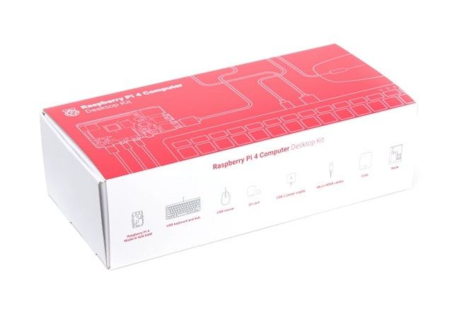 Raspberry Pi 4 Desktop Kit - Spanish