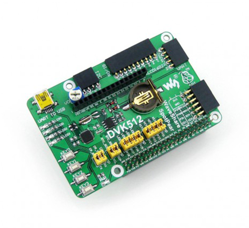 DVK512: Raspberry Pi Expansion Board