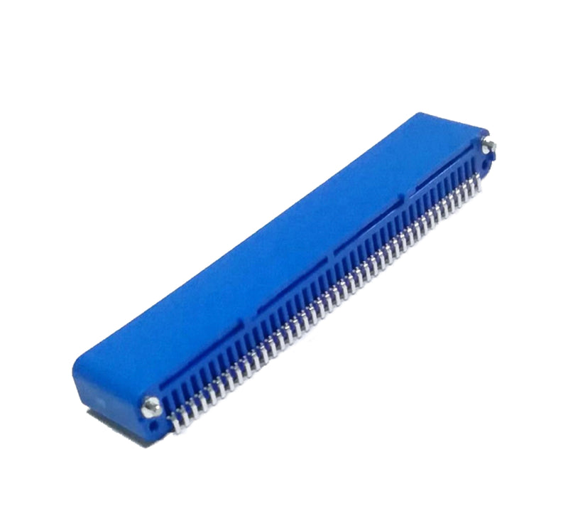 BBC micro:bit Header 40P 180 Degree Angle SMT Edge Connector - Blue (Pack of 5 Pcs)