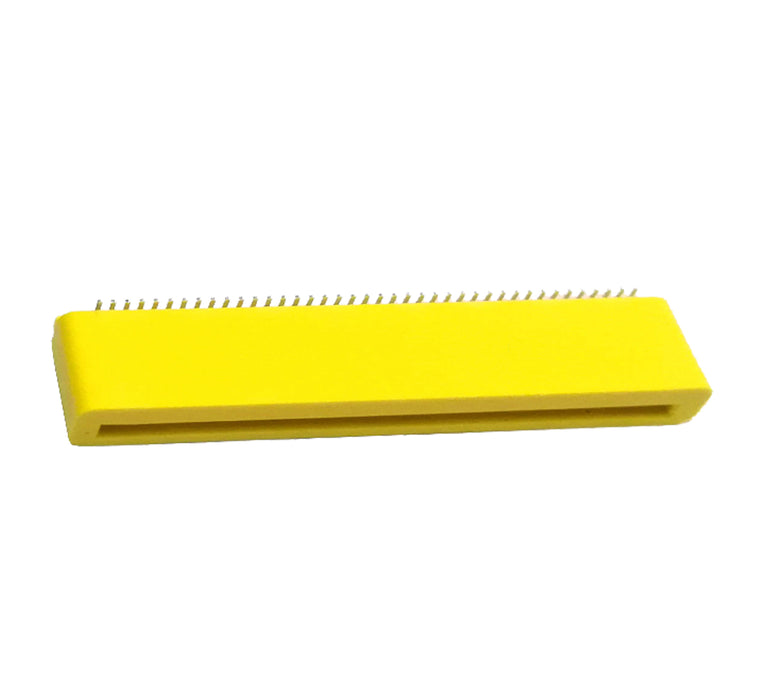 BBC micro:bit Header 40P 180 Degree Angle SMT Edge Connector - Yellow (Pack of 5 Pcs)
