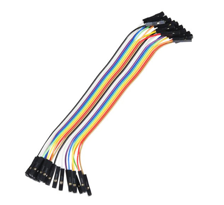 "Jumper Wires - 20 x 6"" Female-Female (pack of 20)"