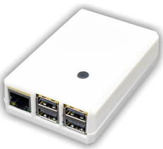 PiStart - Raspberry Pi 3 case with ON switch (White)