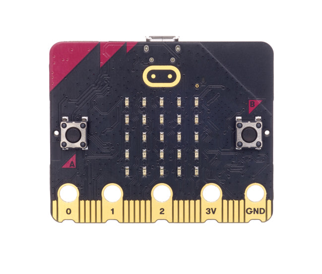 micro:bit v2 with Black Case