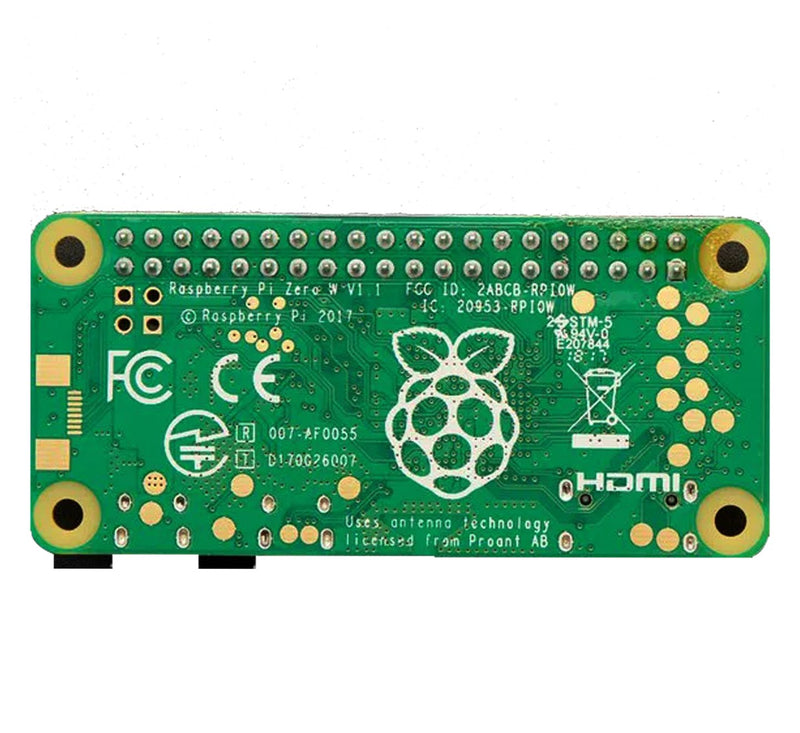 Raspberry Pi Zero W with Soldered Headers