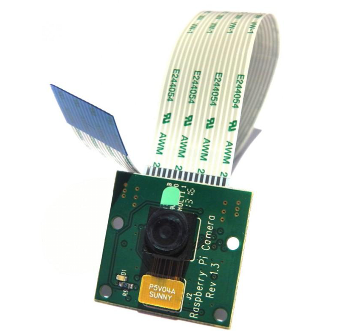 Raspberry Pi Camera Module Rev 1.3 - 5 Megapixel