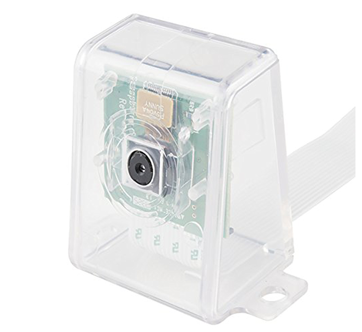Raspberry Pi Camera Case - Clear