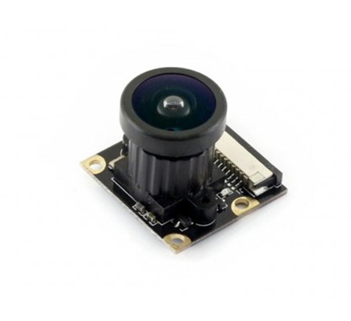 Raspberry Pi Camera (J) with Fisheye Lens, Wider Field of View 5 MP Camera