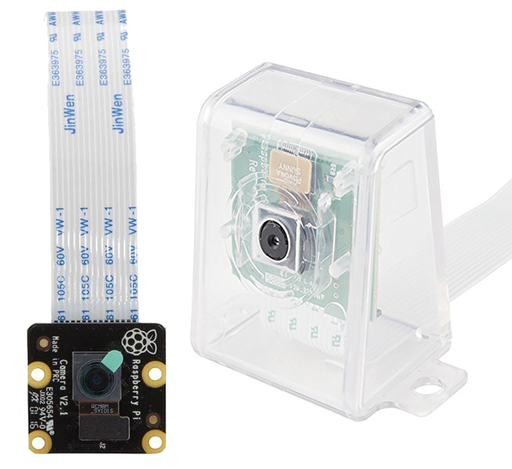 Official 8 MP Raspberry Pi NOIR Camera with Clear Case