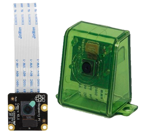 Official 8 MP Raspberry Pi NOIR Camera with Green Case