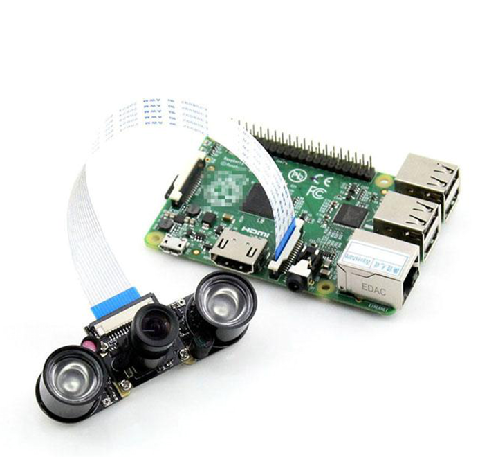 Raspberry Pi Camera 5 MP (F) Supports Night Vision, Adjustable Focus Camera