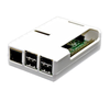 Raspberry Pi 2, 3, 3B+ White Open Case