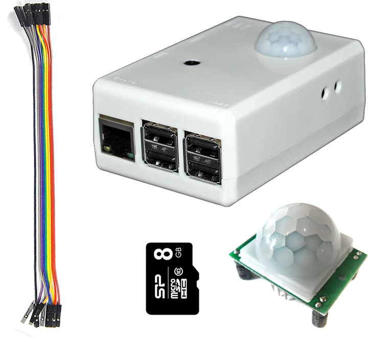 SPi-Box Kit (Black/White)