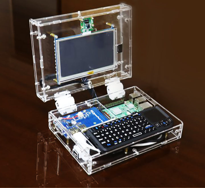 "LapPi: 5"" DIY Laptop Kit With Raspberry Pi"