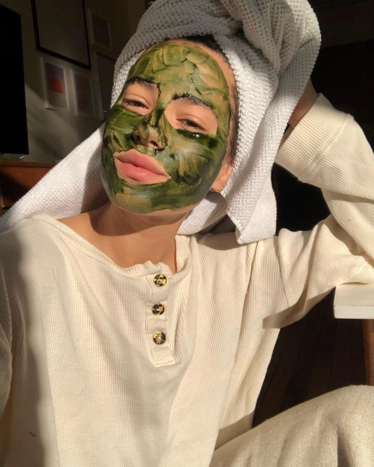 Future Mask Off Clean clean greens face mask