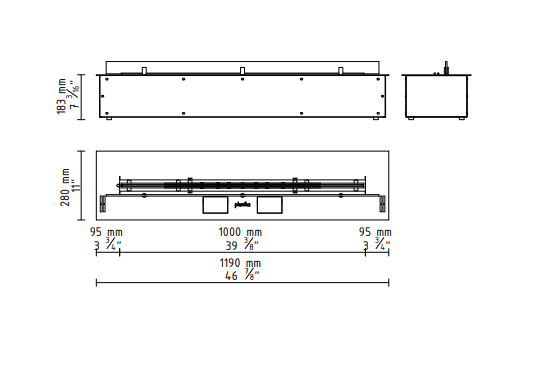 "FLA 3 39"" in Casing A Technical Drawing"