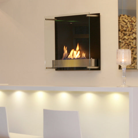 Wall Mount ethanol Fireplace