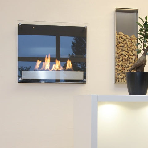 Decoflame wall mount ethanol fireplace