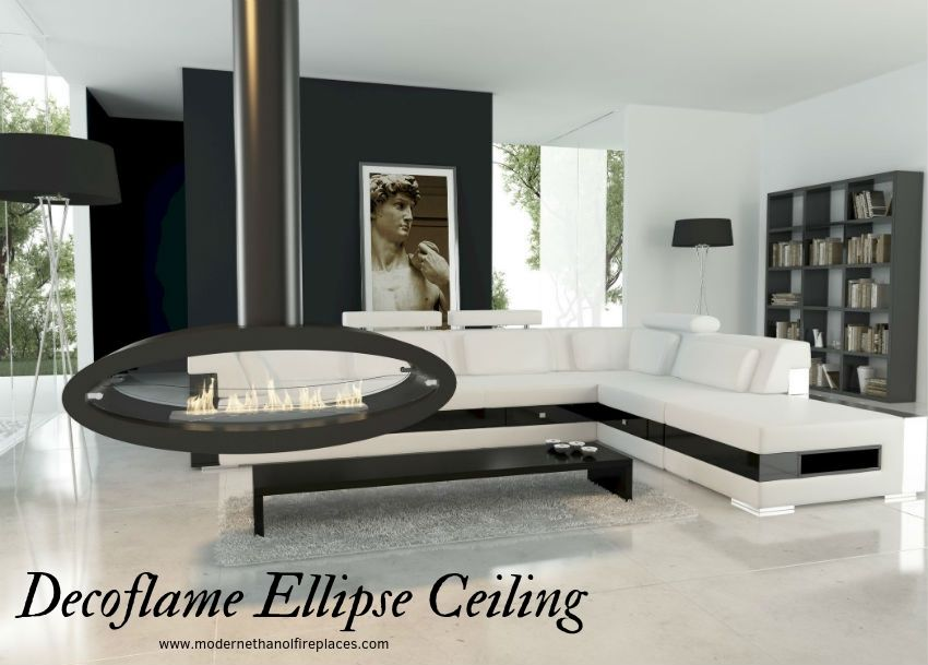 Decoflame Ellipse Ceiling