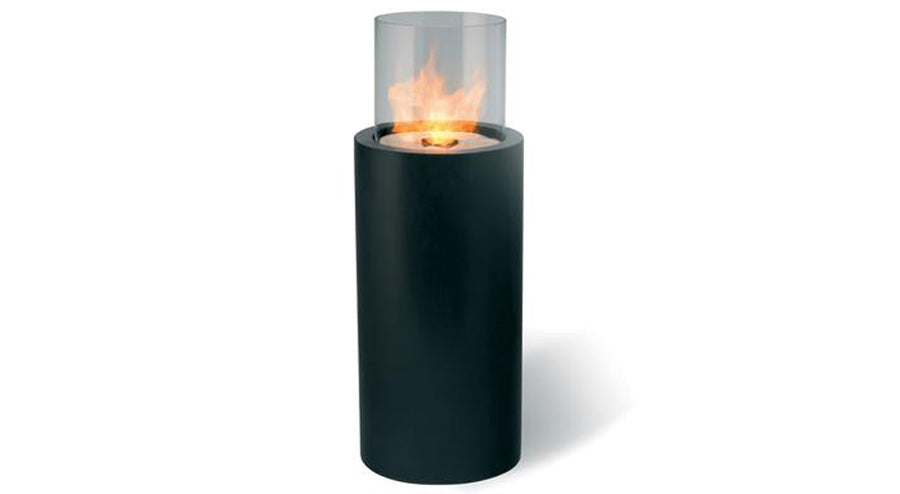 Planika 41-inch Totem Commerce Freestanding Ethanol Fireplace