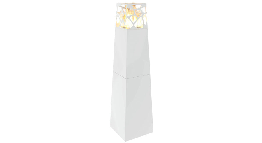 Planika Pyramid Commerce Freestanding Ethanol Fireplace
