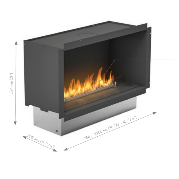 Prime Fire in Casing Technical Drawing
