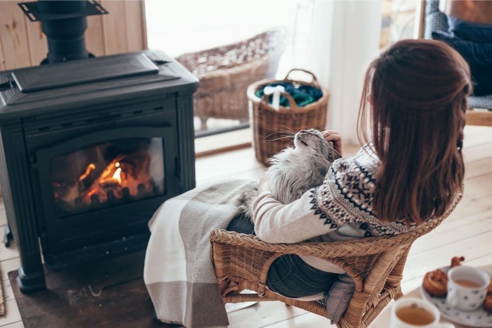 Why do you get Warm Standing in front of a Fireplace?: The Science