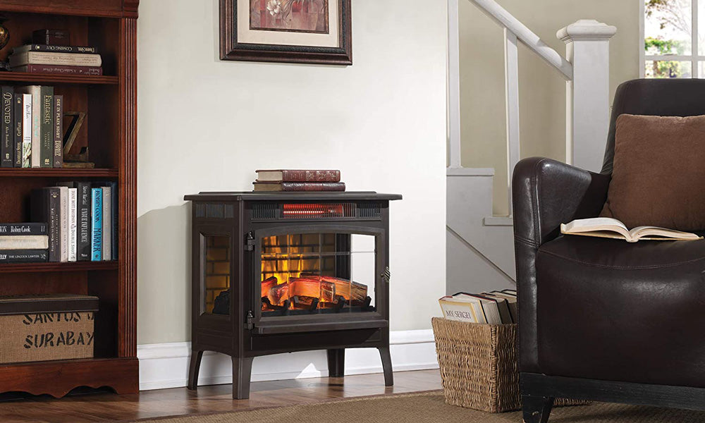 Duraflame 3D Infrared Electric Fireplace Stove with Remote
