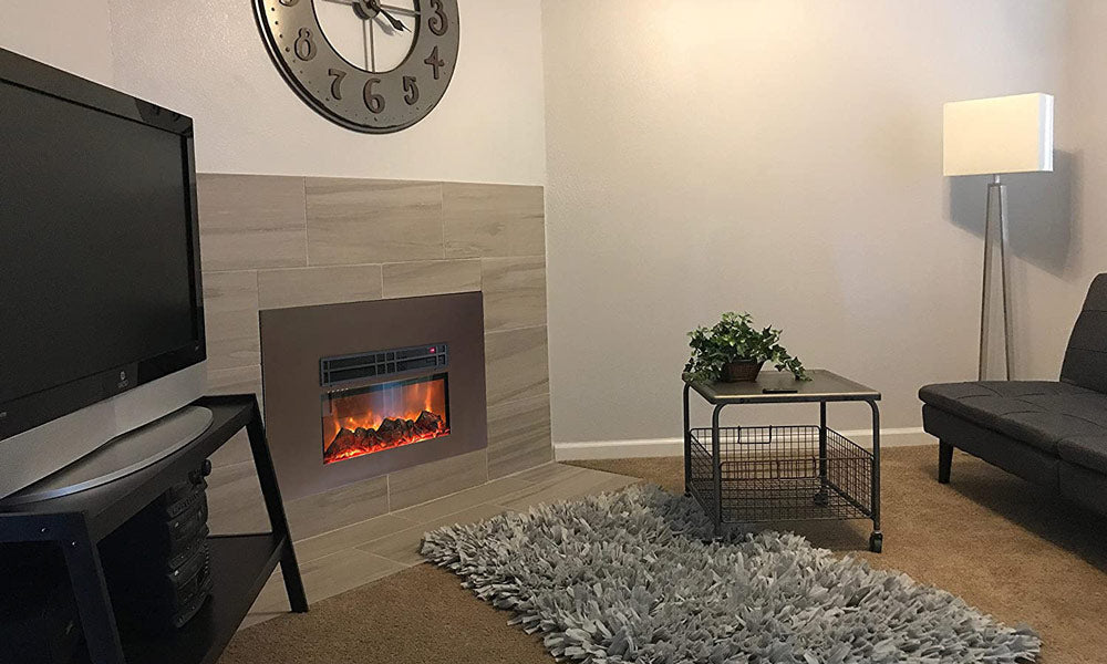 AA Warehousing Y-Décor True Flame electric fireplace