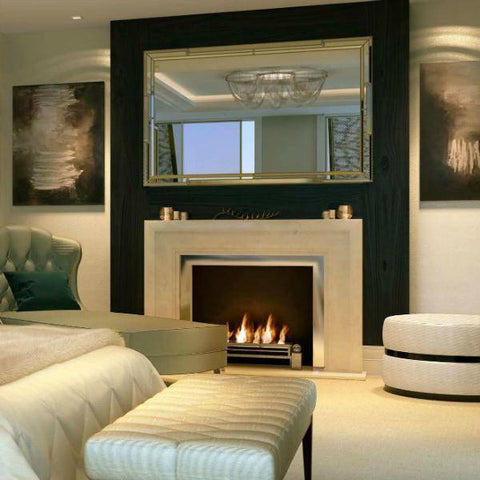 Decoflame Westminster Basic E-Ribbon Automatic Ethanol Fireplace-Modern Ethanol Fireplaces