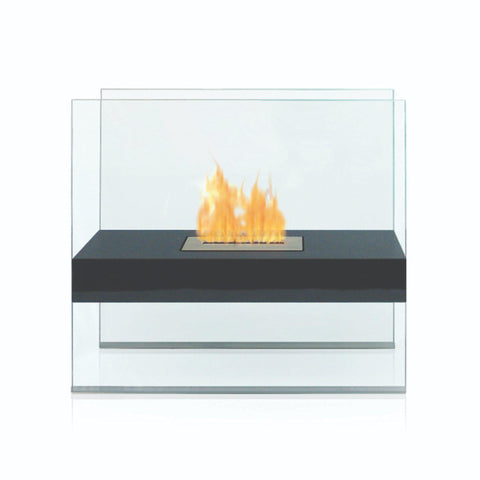 Image of Anywhere Fireplace Madison Free-Standing Ethanol Fireplace-Modern Ethanol Fireplaces