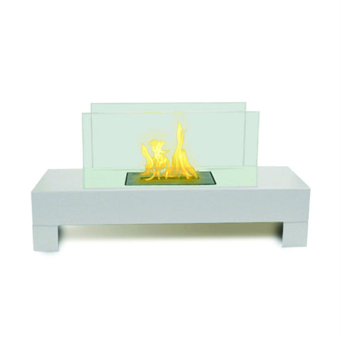 Image of Anywhere Fireplace Gramercy Free-Standing Ethanol Fireplace-Modern Ethanol Fireplaces