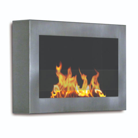 Image of Anywhere Fireplace Soho Wall Mounted Ethanol Fireplace-Modern Ethanol Fireplaces