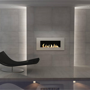 GlammFire Apollo EVOPlus Automatic Wall Mounted Ethanol Fireplace 57
