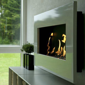 Decoflame New York Empire Wall Fireplace (White)