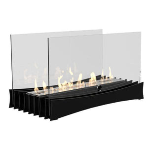 Decoflame Ascot Lux Ethanol Manual Fireplace Insert-Modern Ethanol Fireplaces