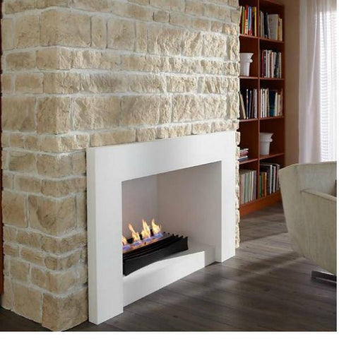 Image of Decoflame Ascot Lux Ethanol Manual Fireplace Insert-Modern Ethanol Fireplaces
