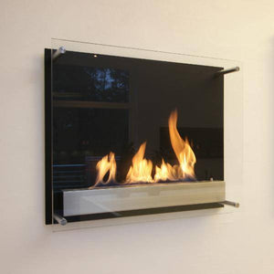 Decoflame Atlantic Recessed Manual Ethanol Fireplace