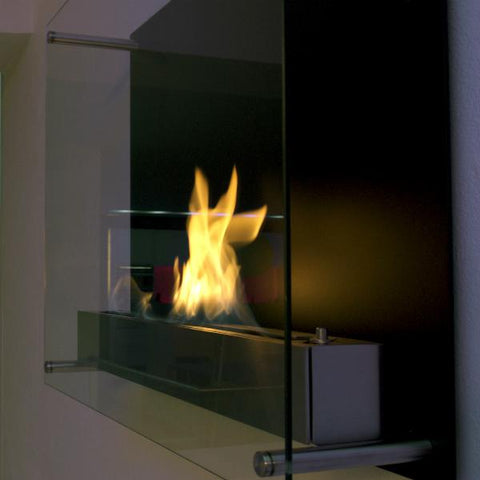 Decoflame Atlantic Recessed Manual Ethanol Fireplace-Modern Ethanol Fireplaces
