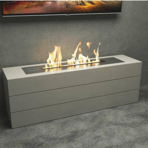 Decoflame Denver Basic E-Ribbon Automatic Ethanol Fireplace Insert-Modern Ethanol Fireplaces