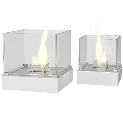 Decoflame Nice Tabletop Fireplace (Indoor / Outdoor)-Modern Ethanol Fireplaces