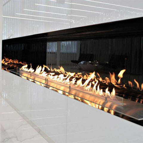 "Image of Planika FLA 3 Ethanol Fireplace Insert 39"" Automatic w/ Remote-Modern Ethanol Fireplaces"