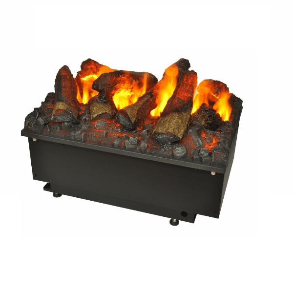 GlammFire Electric Glamm Kit 3D Plus 500 with Remote Control-20 inch-Modern Ethanol Fireplaces