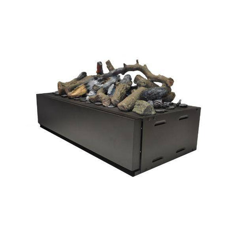 Image of GlammFire Electric Glamm Kit 3D Plus 500 with Remote Control-20 inch-Modern Ethanol Fireplaces