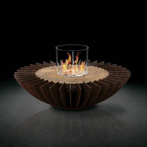 Image of GlammFire Cosmo Tabletop Ethanol Fireplace - 6 inches-Modern Ethanol Fireplaces