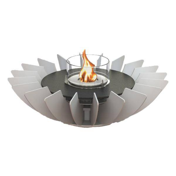 GlammFire Cosmo Tabletop Ethanol Fireplace - 6 inches-Modern Ethanol Fireplaces