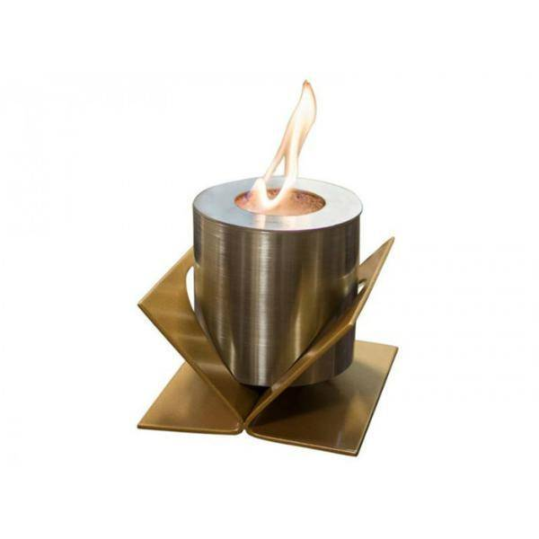 GlammFire Kivo Tabletop Ethanol Fireplace - 5 inches-Modern Ethanol Fireplaces