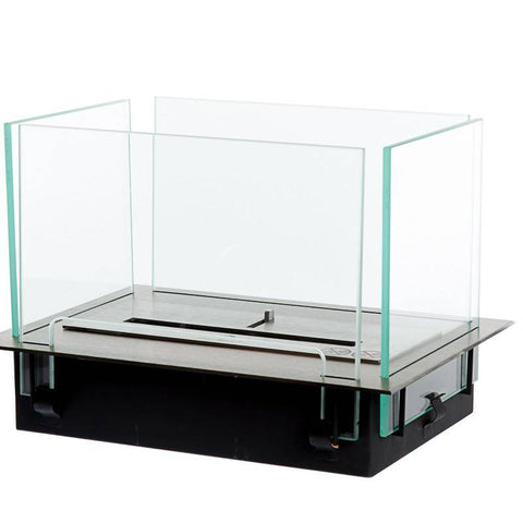 Image of Bio-Blaze Table Insert Ventless Fireplace (BB-IT)-Modern Ethanol Fireplaces